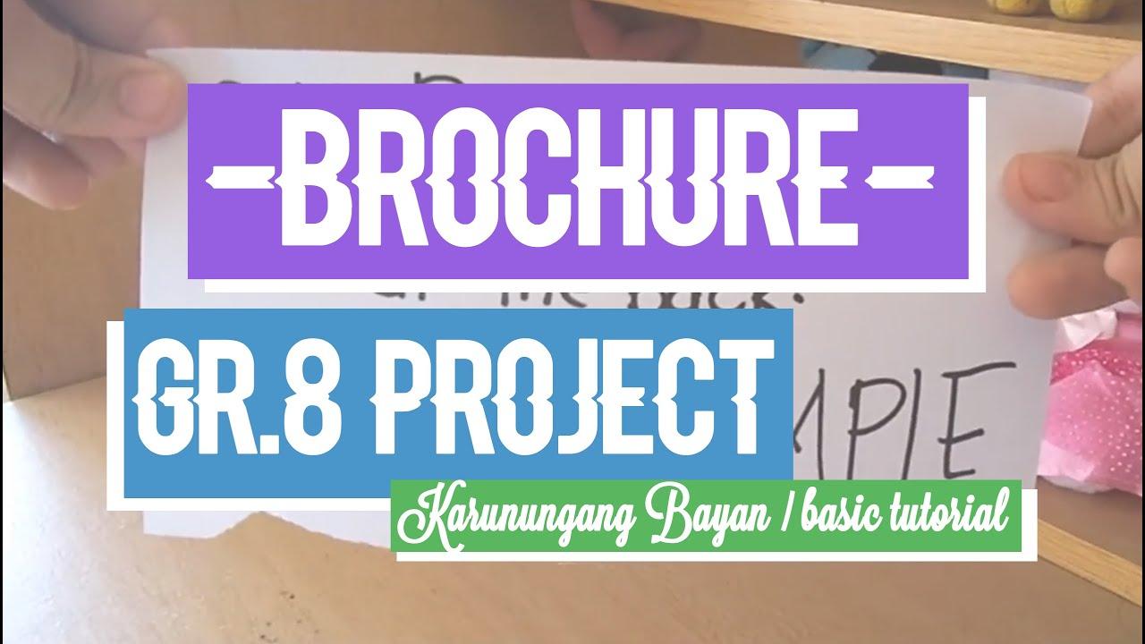 [School project] Filipino Karunungang bayan Brochure