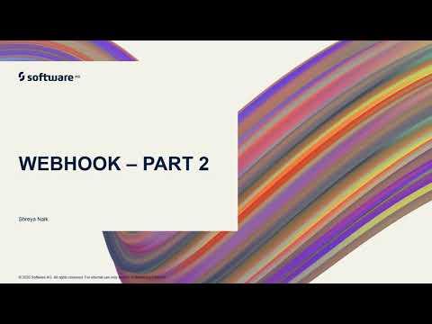 webMethods.io Integration Tutorials - Webhook Part 2