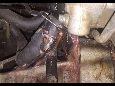 VW Passat 18L heater hose replacement - YouTube