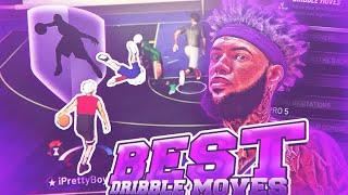 THE BEST DRIBBLE MOVES ON NBA 2K19! ANKLE BREAKER EVERYTIME! GLITCHY DRIBBLE GOD SECRETS