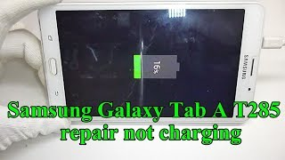 how to change usb connector Samsung Galaxy Tab A T285