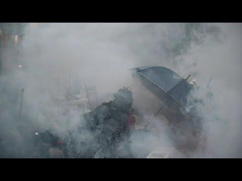 afpes: Policía disparó por primera vez en manifestaciones en Hong Kong | AFP