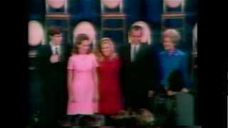 President-elect Richard Nixon declares victory in 1968