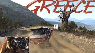 Peugeot 205 T16 Evo 2 Group B   Dirt Rally   Steering Wheel + Shifter   Gameplay PC