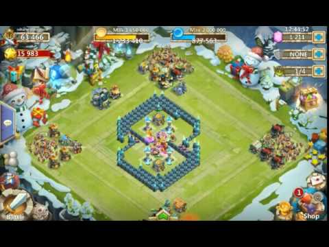 Trying Again To Beat Expert Dungeon 5. Castle Clash