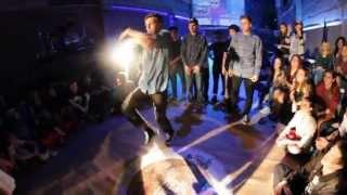 Ясно vs Uforia2 | 1/4 Electro Dance 3x3 | DUEL | Krasnodar | BOOMBOX films 2013