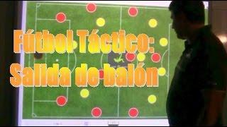 Fútbol Táctica - Salida de balón en 4-2-3-1