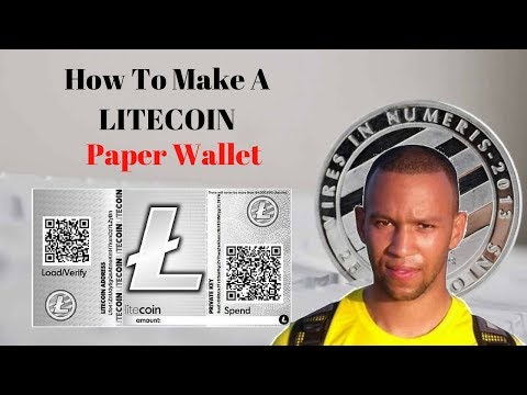 How To Make A Litecoin Paper Wallet Quickly, Easily & Safely