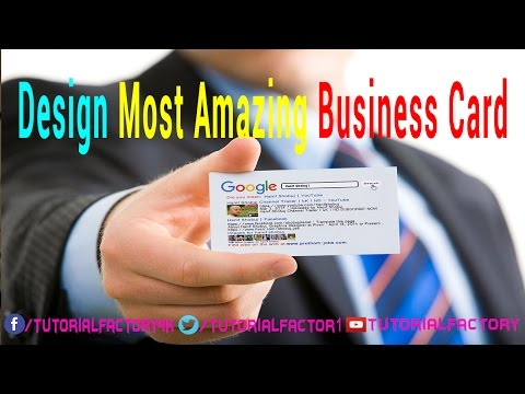 Top 30 Most Amazing A Business Card Design In Photoshop । 4K । HD