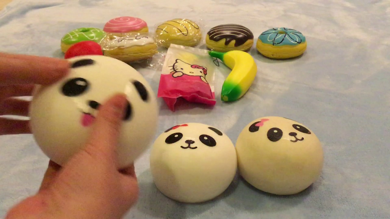 Squishy Haul From China : Squishy haul from china - YouTube