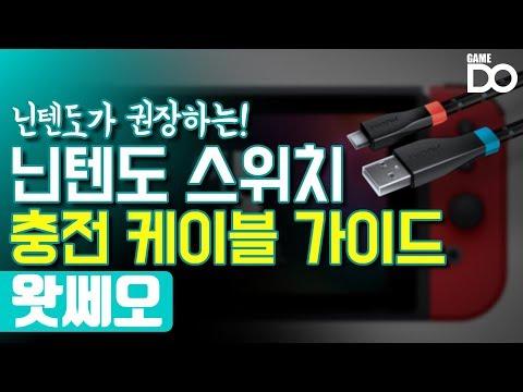 닌텐도가 권장하는 스위치 충전 케이블 가이드 공개 / 4월 2주차 뉴스왓쎄오 [WhatCCEO]