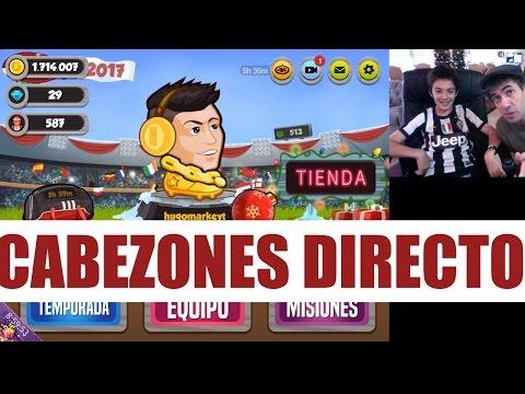 HEAD BALL LEYENDA ONLINE CABEZONES EN DIRECTO