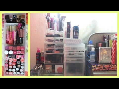 เปิดกรุเครื่องสำอางค์-Makeup collection&storage 2014 | Gam♡