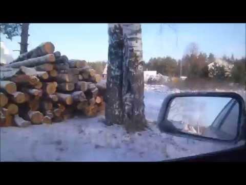 Как я пробку от Болдина до Лакинска объезжал))
