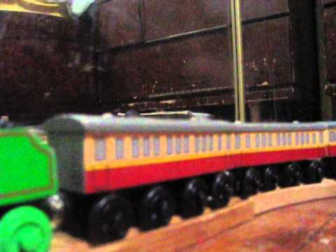 Wooden Railway Review Express Coaches