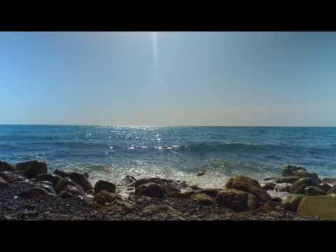 Черное море город курорт Сочи пляж на мамайке DJI OSMO