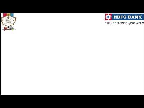 Presidency Club hosted HDFC BANK Josh 2017- Regional Sports Tournament