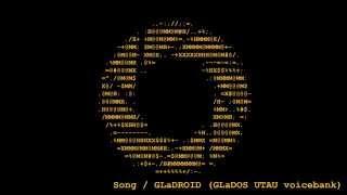 【Portal】 Still Alive (Japanese ver. by GLaDOS UTAU)