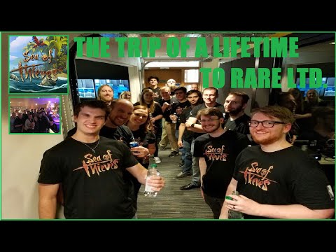 The Trip of a Lifetime! [I GOT TO PLAY SEA OF THIEVES FIRST AT RARE LTD]