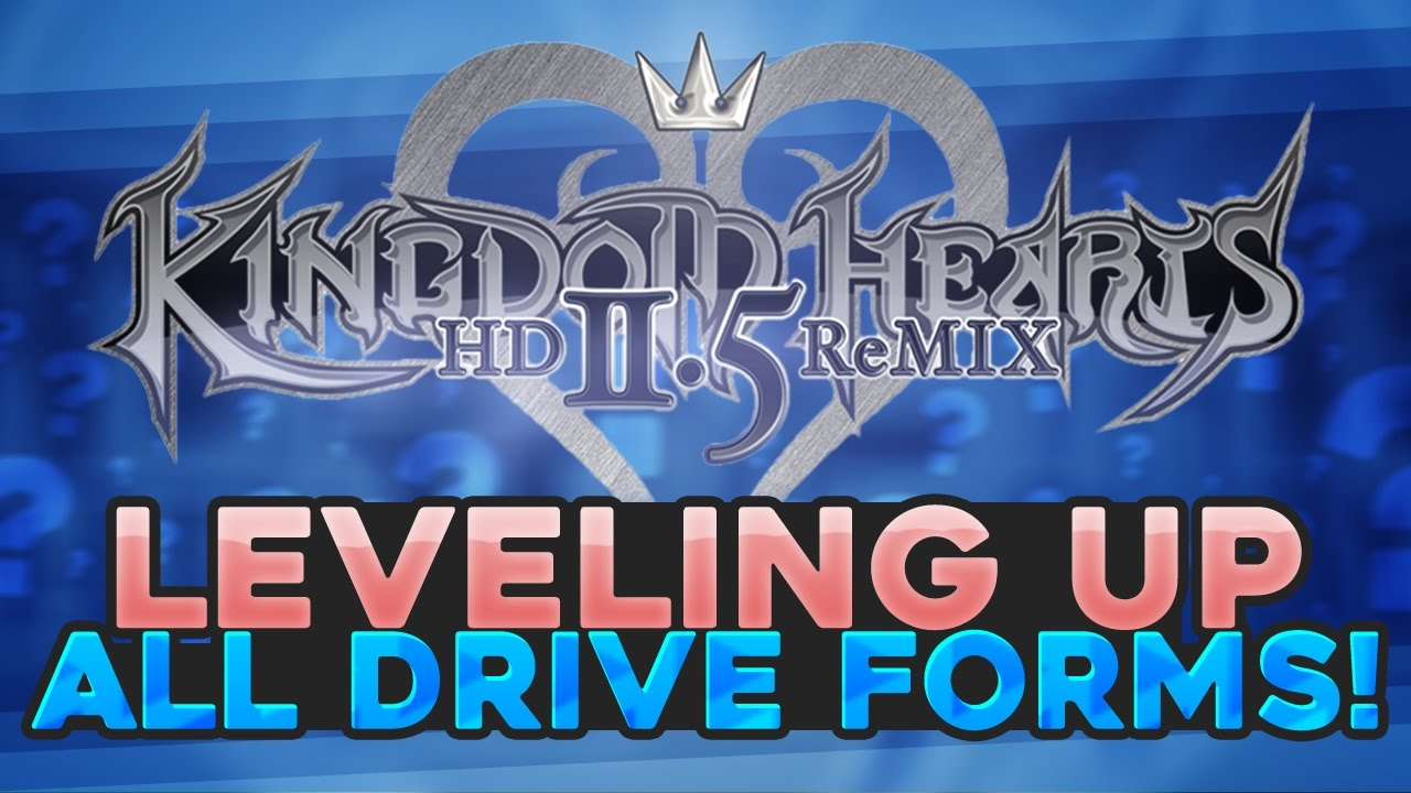 Kingdom Hearts HD 1.5 + 2.5 (PS4) - KH2FM - Easy Drive Forms Level ...