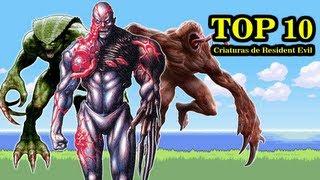 Top 10 - Criaturas de Resident Evil