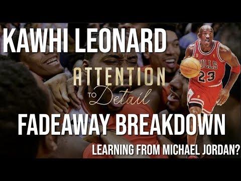 How Kawhi is mimicking Michael Jordan