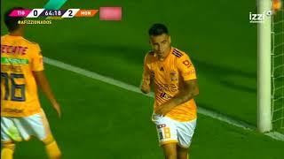 Gol de L. Zelarayán | Tigres UANL 1 - 3 Morelia | LIGA Bancomer MX - Clausura 2019  - Jornada 15