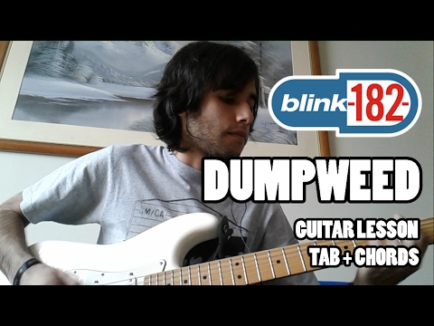 Blink-182 - Dumpweed - Guitar Lesson with TAB and chords - HQ Sound