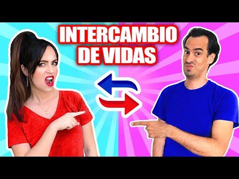 😱 INTERCAMBIO DE VIDAS Con Mi NOVIO 🔥 Cambio De Cuerpo Con EL TITI 😅 SandraCiresArt