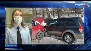 Пять человек пострадали в ДТП на дорогах Республики Марий Эл