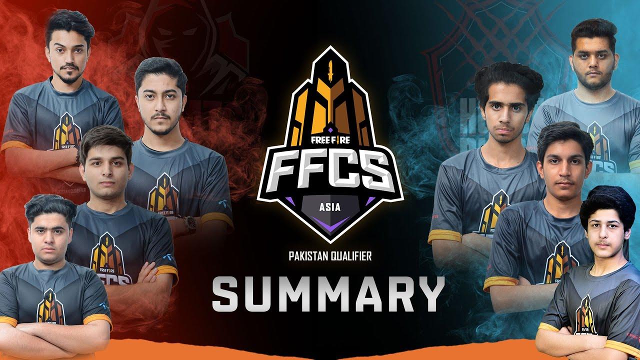FFCS Pakistan Qualifier in a nutshell | FFPL - Free Fire Pakistan League 2021