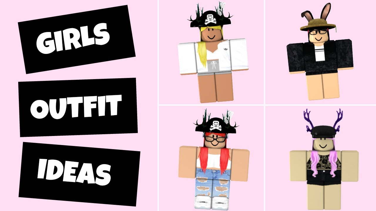 6 Roblox Outfit Ideas (Girls Edition) - YouTube
