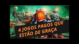 CORRE! 4 JOGOS DE GRAÇA 2 STEAM - 2 EPIC GAMES POR TEMPO LIMITADO!!!