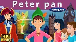 Peter Pan in Portuguese | Contos de Fadas | Contos Infantis | Portuguese Fairy Tales