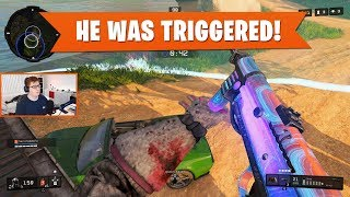 HE WAS TRIGGERED! | Black Ops 4 Blackout | PS4 Pro
