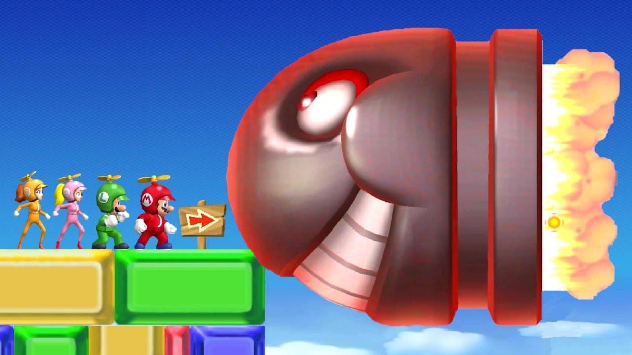 New Super Mario Bros Wii 100% Walkthrough Part 9 - World 9
