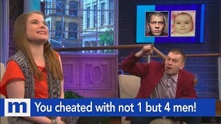 You cheated with not 1 but 4 men! | The Maury Show