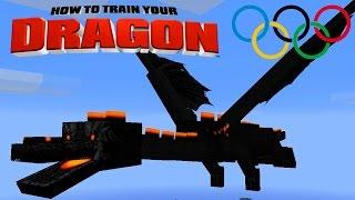 Minecraft - HOW TO TRAIN YOUR DRAGON - Dragon Olympics # 3 'Dragon Egg Hunt'