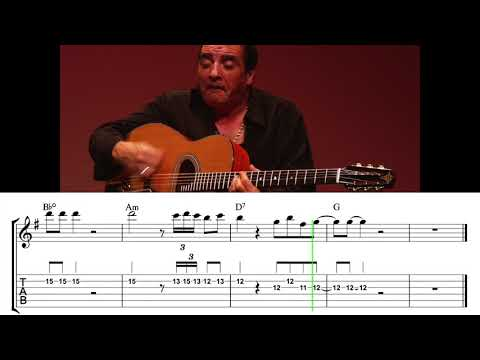 what-a-difference-a-day-made-solo-transcript- -gypsy-jazz-guitar-tabs