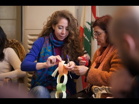 Art therapy in Damascus  l Mennonite Central Committee