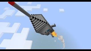 РАКЕТА БЕЗ МОДОВ В Minecraft PE 0.15.6/0.16.0!