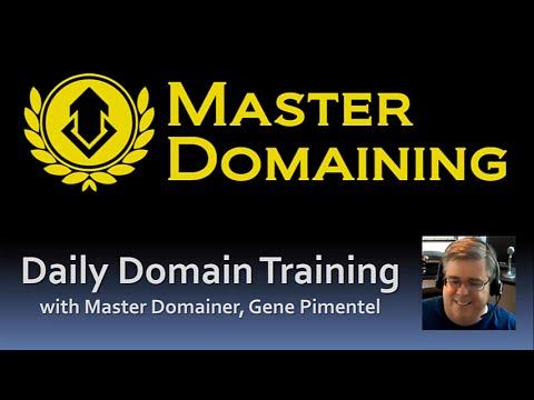 Master Domaining - Domain Flipping with Gene Pimentel