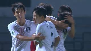 Tajikistan 1-1 Korea Republic (AFC U16 Malaysia 2018 : Semi-finals)