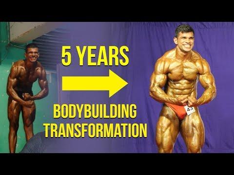 5 Years Amazing Transformation | Indian Bodybuilding