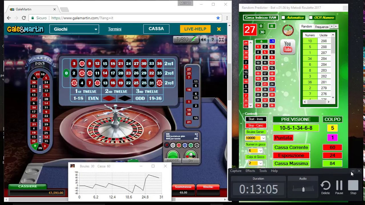 Vincere roulette online