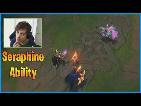 New Champion Seraphine Ability Reveal...LoL Daily Moments Ep 1156