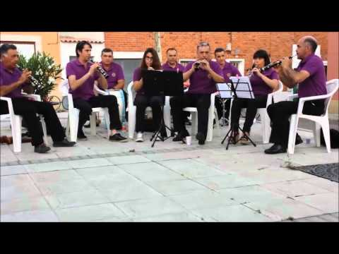 La Besana tocando una rumbita