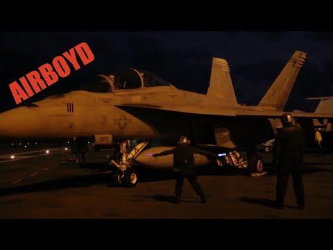 Night Flight Operations USS Gerald R. Ford (CVN-78)