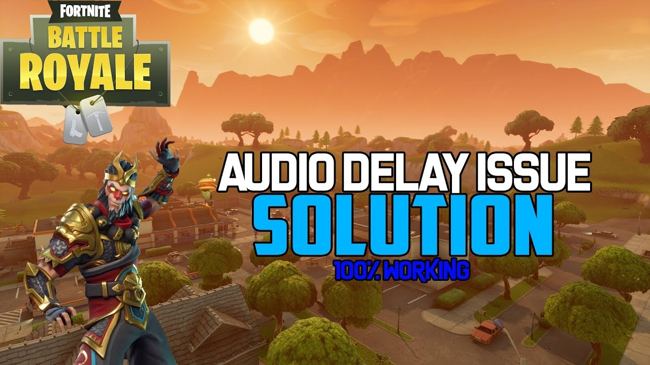 Fortnite Sound Not Working Pc this will fix your fortnite audio problems! (read comments)