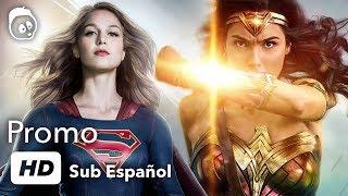 Supergirl / Wonder woman Promo - Sub español